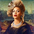 Beyonce as Mona Lisa 2