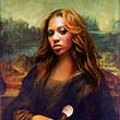 Beyonce as Mona Lisa