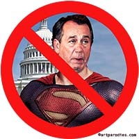 John Boehner No Superman