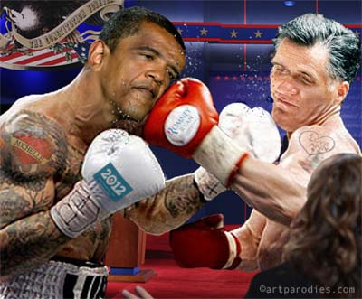 Romney and Obama prep for second debate