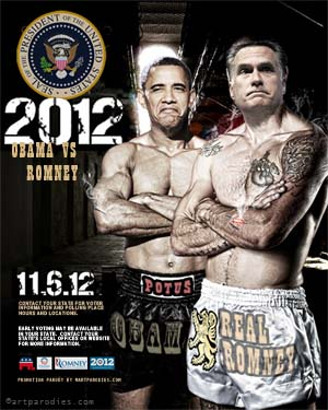 Obama vs. Romney parody