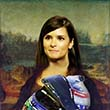 Danica Patrick as Mona Lisa