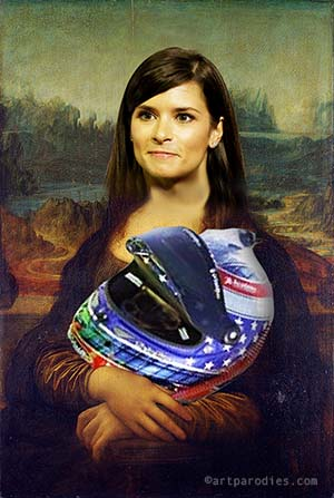 Danica Patrick crashes the glass ceiling at Daytona 500