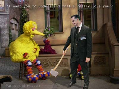 Romney to axe Big Bird