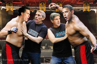 Obama-Romney Debate Prep
