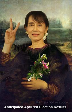 Suu Kyi Election Parody
