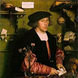 Hans Holbein - Portrait of Gisze original