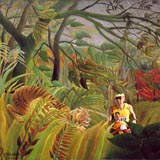 Henri.Rousseau.Surprise parody with Albert