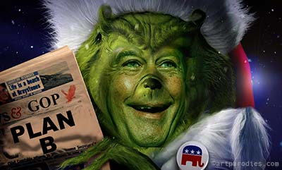 Boehner and the GPO as the Grinch for Christmas 2012