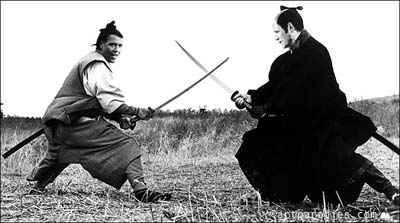 Obama-Romney with samurai hairdo