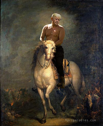 Trump: My horse is yuge!