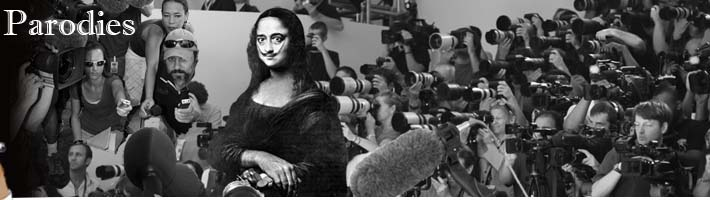 Media Frenzy with Dali's Monalisa